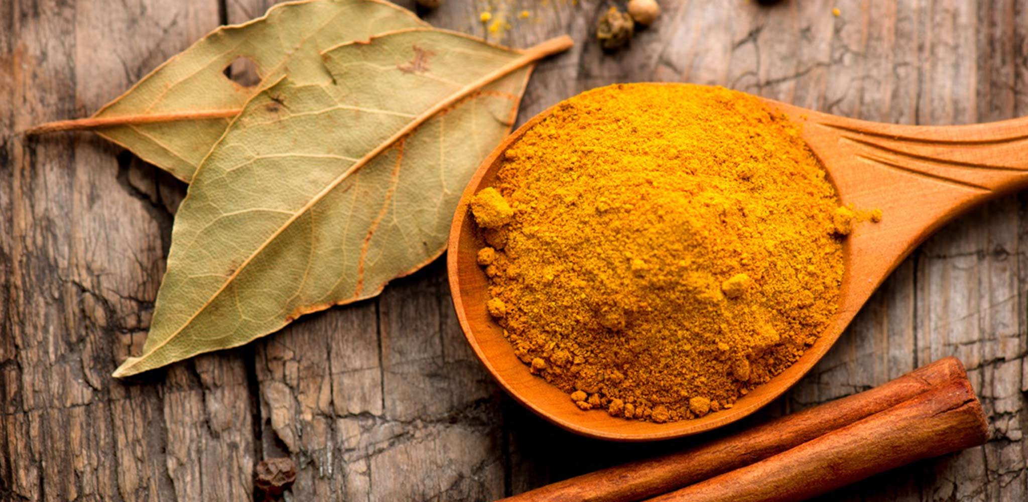 Spoonful of healthy spices